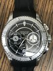 Hamilton Automatic Chronograph Rubberized Band Sapphire Crystal Swiss Made