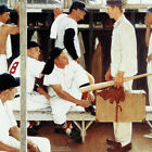 Marmont Hill The Rookie 302 Norman Rockwell Painting Print on - 40 x 40
