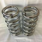 Lowrider Hydraulics 1 ton coil springs full stack chrome