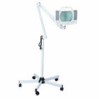 5x Diopter LED Magnifying Floor Stand Lamp Glass Lens Beauty Facial Magnifier