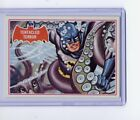 1966 Topps Batman A Series Red Bat Trading Cards 9
