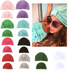 New Mommy and Baby Turban Sport Yoga Knotted Cap Hats Newborn Indian Beanie Gift
