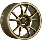 Konig 100BZ Freeform 17x8 4x100 +45mm Bronze Wheel Rim 17 Inch
