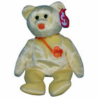 Ty Beanie Baby Bunga - Raya - MWMT, Bear International Exclusive