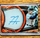 2018 Freddie Freeman Topps Tribute AUTO ORANGE Autograph 25 Atlanta Braves
