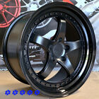 XXR 565 Wheels Flat Black 18 x85 95 +38 Staggered Rims 5x1143 98 Toyota Supra