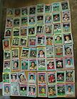 64 x topps blue back football cards 1976 job lot 63 different huge collection