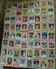 64 x topps blue grey football cards 1976 job lot 63 different huge collection