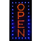 Neon Led Open Light Animated Motion Business Sign Flash Bright Squareoval