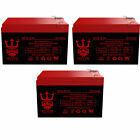 Super Turbo 800 Elite 12V 12Ah Electric Scooter Battery by Neptune 3 pack