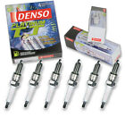 6 pc Denso Platinum TT Spark Plugs for Dodge Ramcharger 37L L6 1974 Tune Up jk