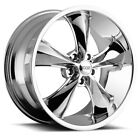 Staggered Foose F105 Legend 20x8520x10 5x45 +32mm Chrome Wheels Rims