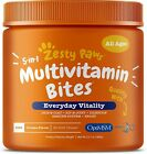 Zesty Paws Multivitamin Treats for Dogs Glucosamine Chondroitin for Joint