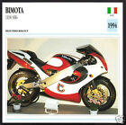 1994 Bimota 1100cc SB6 (1074cc Suzuki Engine) Italy Motorcycle Photo Spec Card