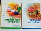 WEIGHT WATCHERS 2003 Flex Points COMPLETE FOOD  DINING OUT COMPANION Books