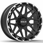 20 SOLID Creed Machined 20x95 Forged Wheels Rims Fits Infiniti FX35 FX45