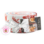 Moda NORTHPORT Minick  Simpson JELLY ROLL 40 strips Quilting RED WHITE BLUE