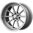 4 American Racing VN510 Draft 18x8 5x475 +0mm Silver Wheels Rims 18 Inch