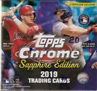 2019 Topps Chrome Sapphire Sealed Box Online Exclusive