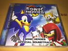 SONIC HEROES the hedgehog game music SOUNDTRACK cd 30 hits gunnar nelson crush40