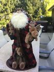"BOYDS BEARS 34"" NICHOLAS WOODSLEY LTD.  EDITION  SANTA BEAR"