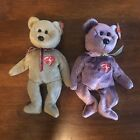 Ty Beanie Babies 1999 & 2000 Signature Bears NEW Retired Stuffed Plush