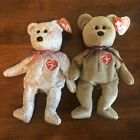 Ty Beanie Babies 1999 & 2001 Signature Bears NEW Retired Stuffed Plush