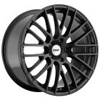 4 TSW Max 19x85 5x1143 5x45 +40mm Matte Black Wheels Rims