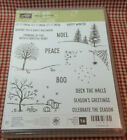 Stampin Up Stamp Set New Happy Scenes Photopolymer