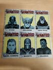 Heroclix - Wanted ID Card Lot - Days Of Future Past X-Men OP LE - 6 (Six) cards