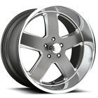 US Mags U118 Hustler 22x9 5x475 +1mm Gunmetal Wheel Rim 22 Inch