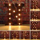12 Marquee A To Z Alphabet Letters LED Light Up Sign Standing Hanging
