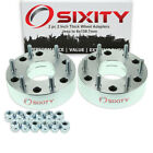 2pc 5x1143mm to 6x1397mm Wheel Spacers Adapters 2 for Jeep Compass lw