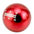 5 Speed Jdm Mugen Ball Shape Shift Knob Universal Manual Gear Shifter Lever
