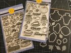 Sunny Studios Stamp Lot Woodsey Creatures and Harvest Happiness