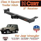 13408 Curt Class 3 Square Trailer Hitch with 2