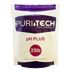 Puri Tech Chemicals pH Plus 25 lb Resealable Bag for Pools  Spas Increases pH