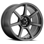 4 Konig 54GG Ultraform 19x85 5x45 +45mm Graphite Wheels Rims 19 Inch