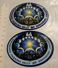 Vintage Nasa ISS Expedition 44 Patch and Sticker Set