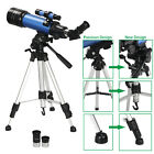 Used 70mm Astronomical Refractor Telescope Refractive 2 Eyepieces Tripod