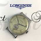 Vintage 1946 Men's Longines Stainless Steel Sub Second Watch w/Paper Running 23M