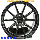 Rosenstein Delta 18 +38 Flat Black Staggered Wheels 5x1143 93 97 toyota Supra