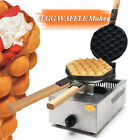 1100W Stainless Stee lFuel Gas Nonstick Egg Bubble Cake Oven Waffle Maker Machi