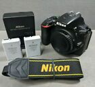 Nikon D D5500 242MP Digital SLR Camera Black Body Only 15K Clicks