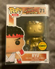 Funko Pop! Asia Street Fighter Ryu #71 Gold Vaulted CHASE Figure W PROTECTOR!