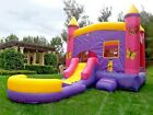 Commercial Inflatable Bounce House Butterfly Wet Dry Slide 100 PVC Pool Blower