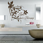 Spa Therapy Wall Decals Beauty Salon Art Sticker Decal Vinyl Bathroom Room MS406