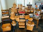 Longaberger Baskets, Wrought Iron, Accessories & More Huge Lot