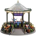 LEMAX Village House - JULY 4TH GARDEN GREEN BANDSTAND - Americana Carnival