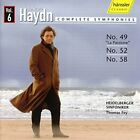 oseph Haydn - Haydn - Symphonies 49, 52 and 58 [CD]